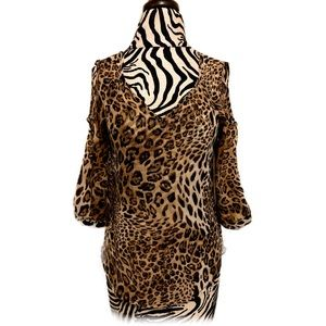 Wet Seal Leopard  print top size Small